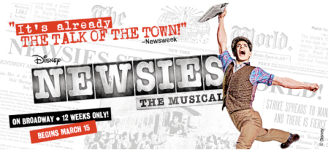 Poster Ad for Newsies